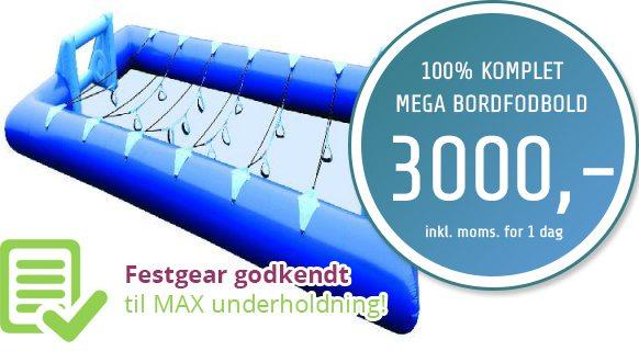 Mega bordfodbold i København
