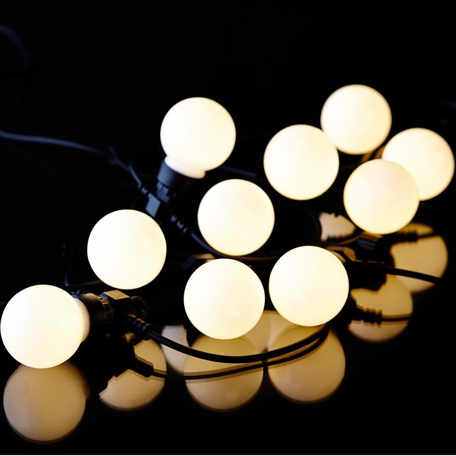 sirus lyskæde hvid
