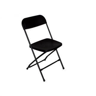 klapstole event sort uden polstring