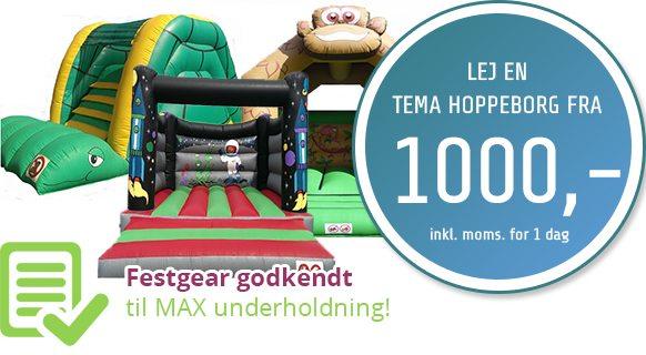 Leje Af Hoppeborg Udlejning Lej En Hoppeborg Fra 1000